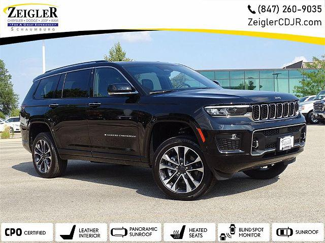 2021 Jeep Grand Cherokee Overland for sale in Schaumburg, IL