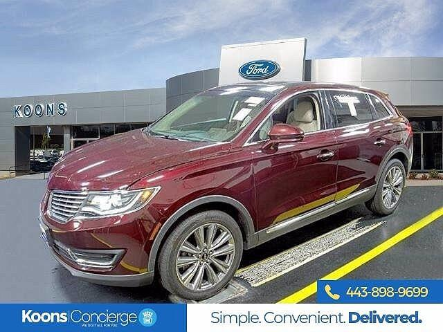 2017 Lincoln MKX Reserve for sale in Windsor Mill, MD