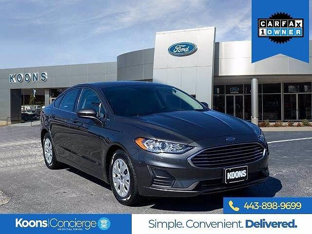 2019 Ford Fusion S for sale in Windsor Mill, MD