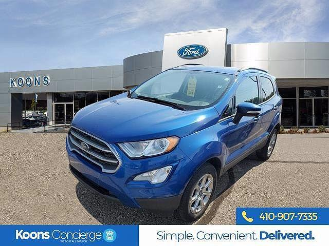 2018 Ford EcoSport SE for sale in Windsor Mill, MD