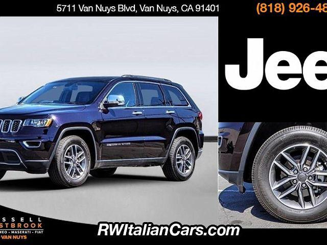 2020 Jeep Grand Cherokee Limited for sale in Sherman Oaks, CA