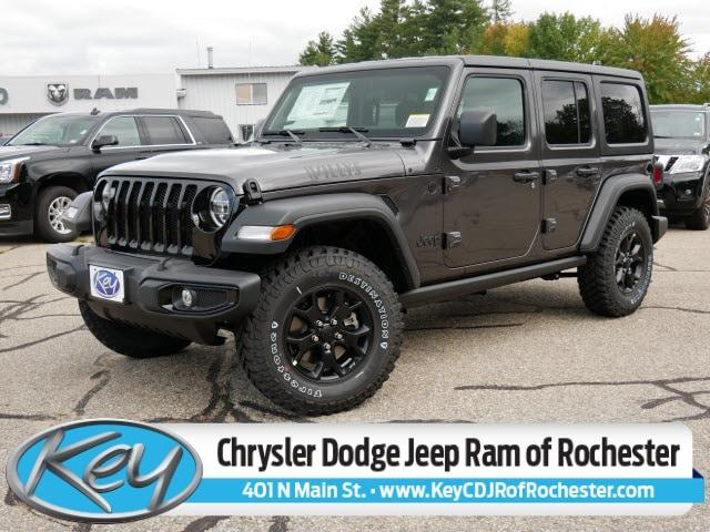 2021 Jeep Wrangler Unlimited Willys for sale in Rochester, NH