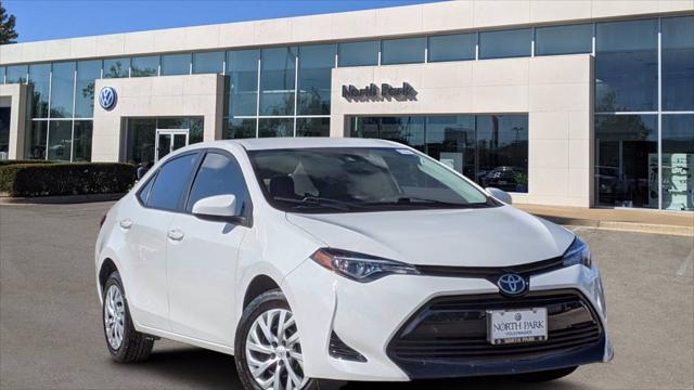 2018 Toyota Corolla LE for sale in San Antonio, TX