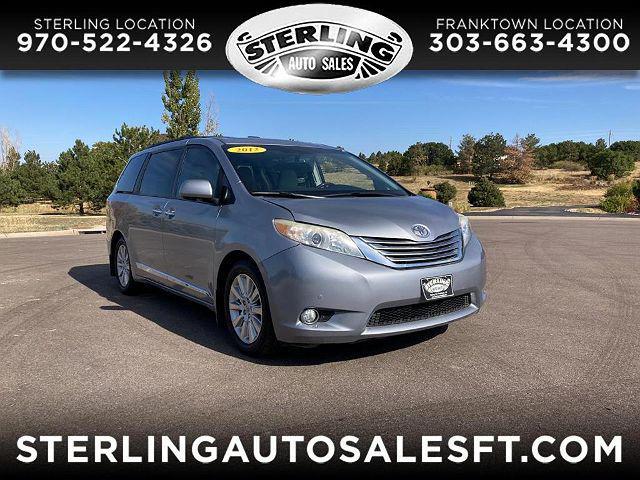 2012 Toyota Sienna Ltd for sale in Franktown, CO