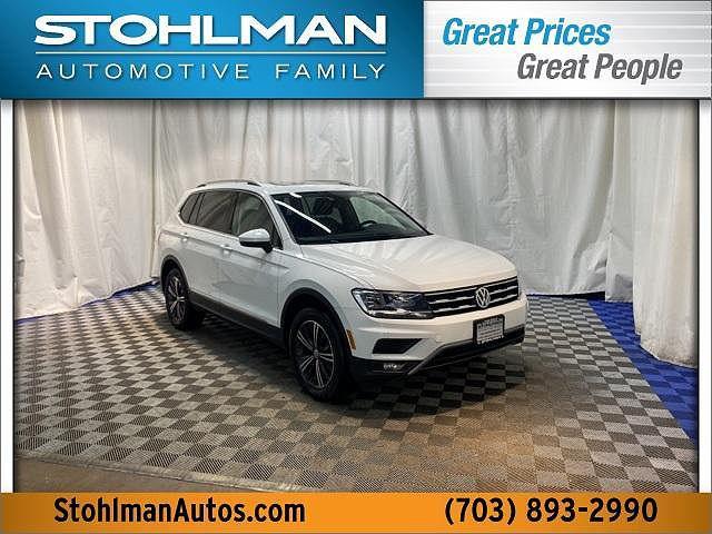 2018 Volkswagen Tiguan SEL for sale in Vienna, VA
