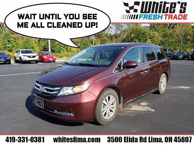 2017 Honda Odyssey EX-L for sale in Lima, OH