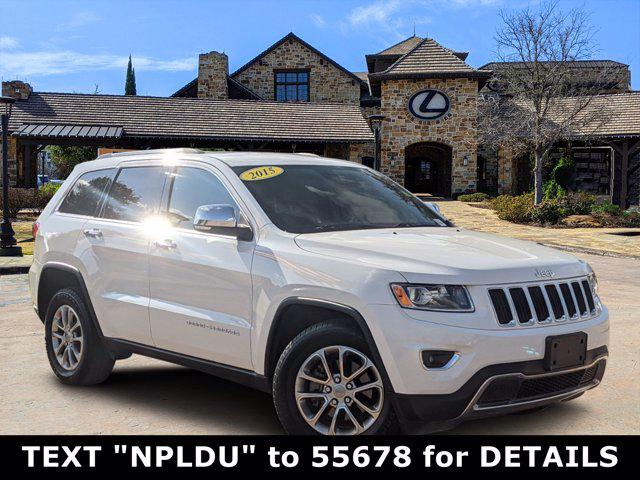 2015 Jeep Grand Cherokee Limited for sale in San Antonio, TX