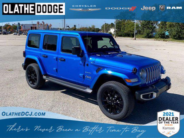 2021 Jeep Wrangler 4xe Unlimited Sahara for sale in Olathe, KS