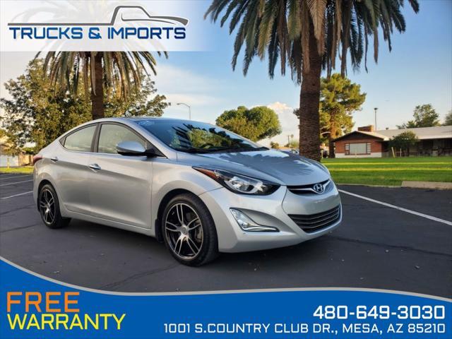 2014 Hyundai Elantra Limited for sale in Mesa, AZ