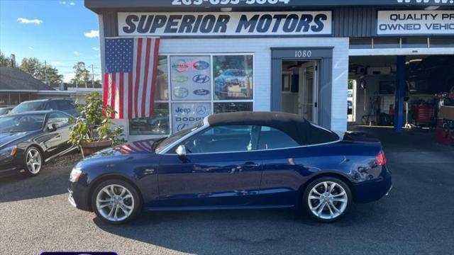 2014 Audi S5 Premium Plus for sale in Milford, CT