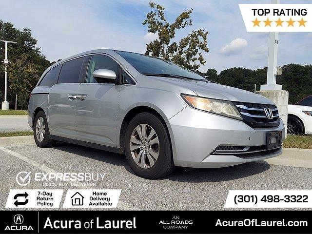 2014 Honda Odyssey EX-L for sale in Laurel, MD