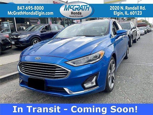 2020 Ford Fusion Titanium for sale in Elgin, IL