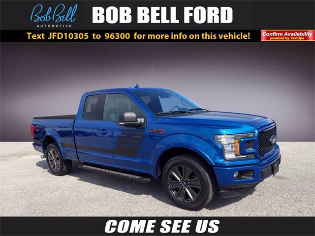 2018 Ford F-150 XLT for sale in GLEN BURNIE, MD