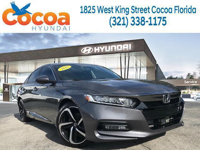 2018 Honda Accord Sedan Sport 1.5T for sale in COCOA, FL