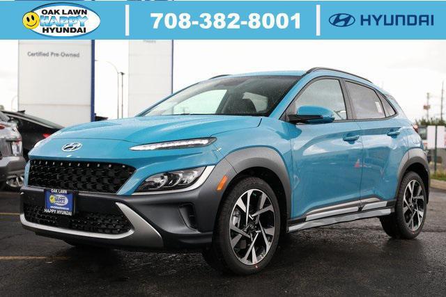 2022 Hyundai Kona Limited for sale in Oak Lawn, IL