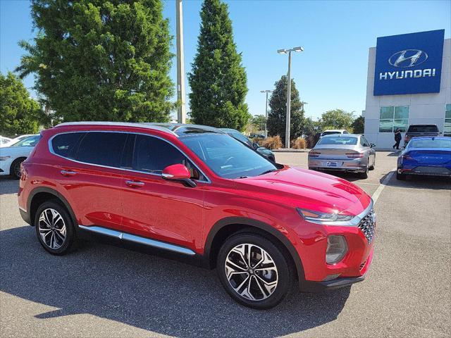 2020 Hyundai Santa Fe SEL for sale in SAINT PETERSBURG, FL