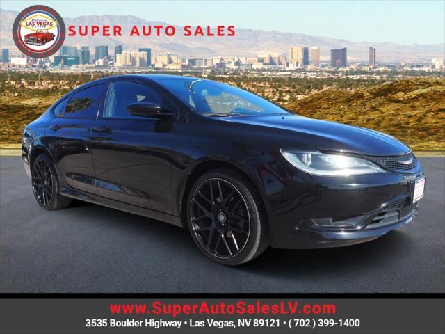 2015 Chrysler 200 S for sale in Las Vegas, NV