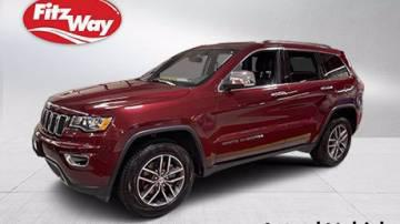 2018 Jeep Grand Cherokee Limited for sale in Germantown, MD