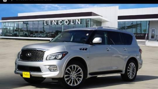 2016 INFINITI QX80 2WD 4dr for sale in Houston, TX