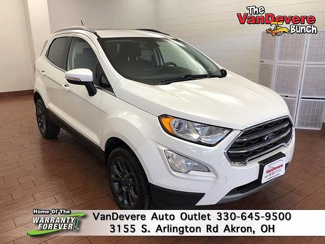 2019 Ford EcoSport Titanium for sale in Akron, OH