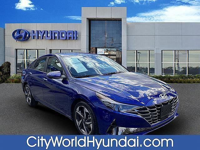 2021 Hyundai Elantra Limited for sale in Bronx, NY