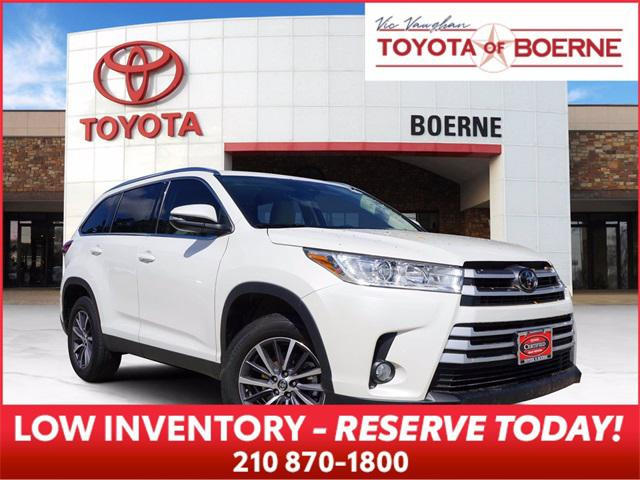 2019 Toyota Highlander XLE for sale in Boerne, TX