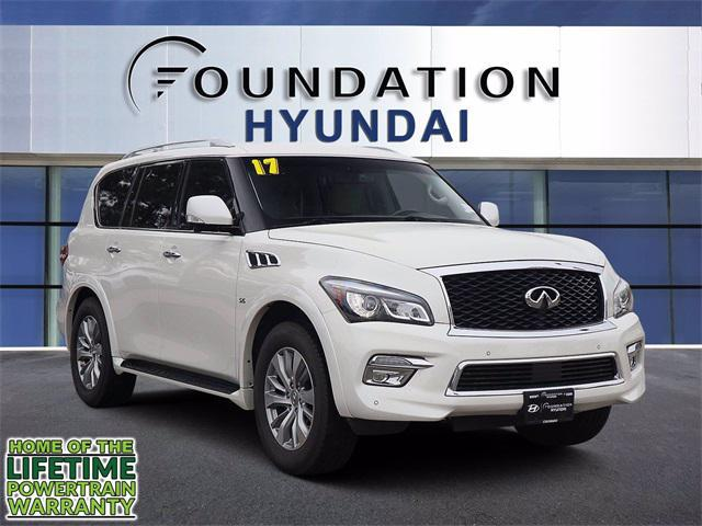2017 INFINITI QX80 AWD for sale in WESTMINSTER, CO