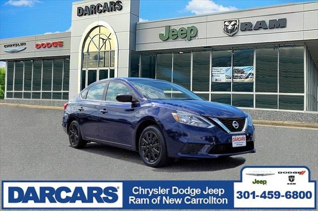 2017 Nissan Sentra SV for sale in New Carrollton, MD