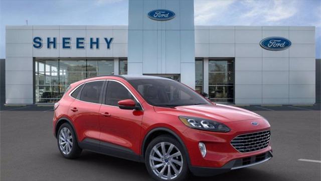 2021 Ford Escape Titanium Hybrid for sale in Springfield, VA