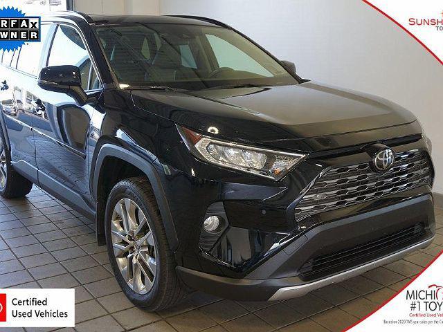 2019 Toyota RAV4 Limited for sale in Battle Creek, MI