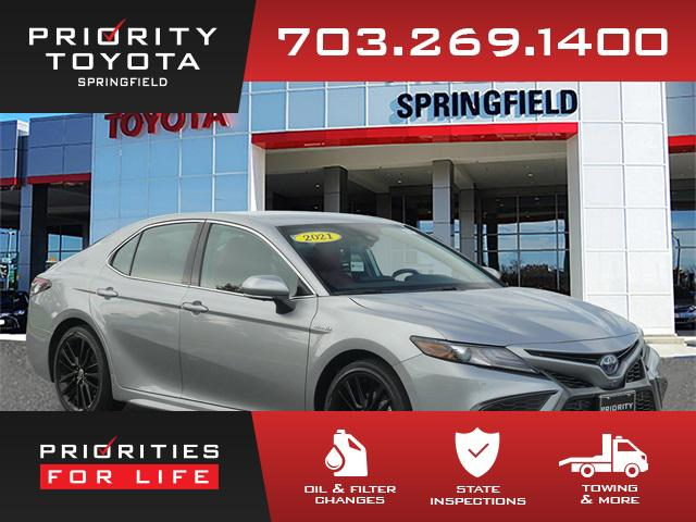 2021 Toyota Camry Hybrid XSE for sale in Springfield, VA
