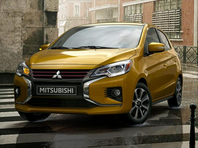 2021 Mitsubishi Mirage ES for sale in MARLOW HEIGHTS, MD