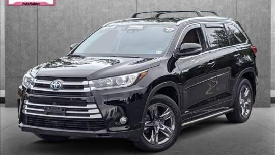 2017 Toyota Highlander Hybrid Limited Platinum for sale in Leesburg, VA
