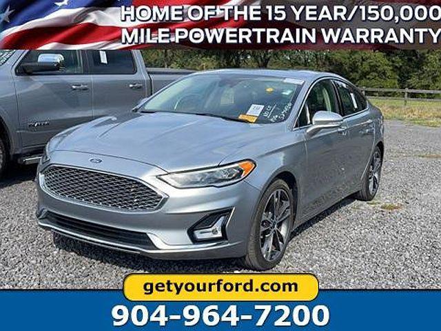 2020 Ford Fusion Titanium for sale in Starke, FL