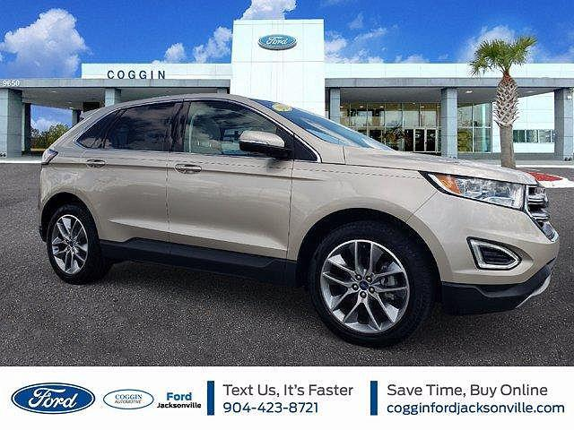 2018 Ford Edge Titanium for sale in Jacksonville, FL