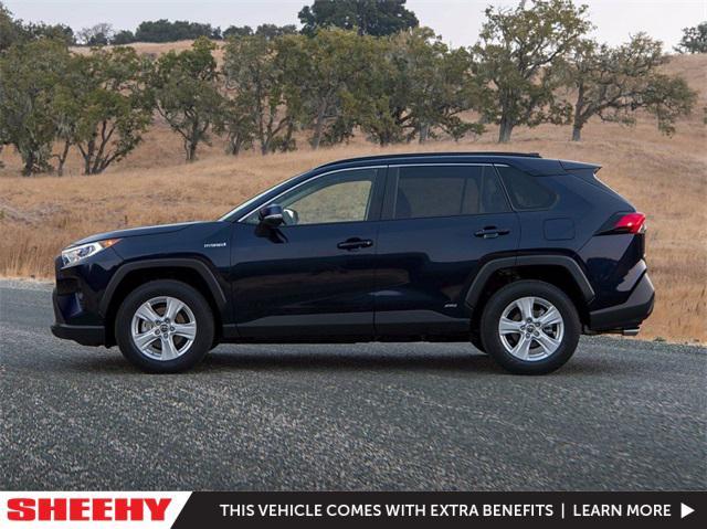 2021 Toyota RAV4 Hybrid XLE for sale in Laurel, MD