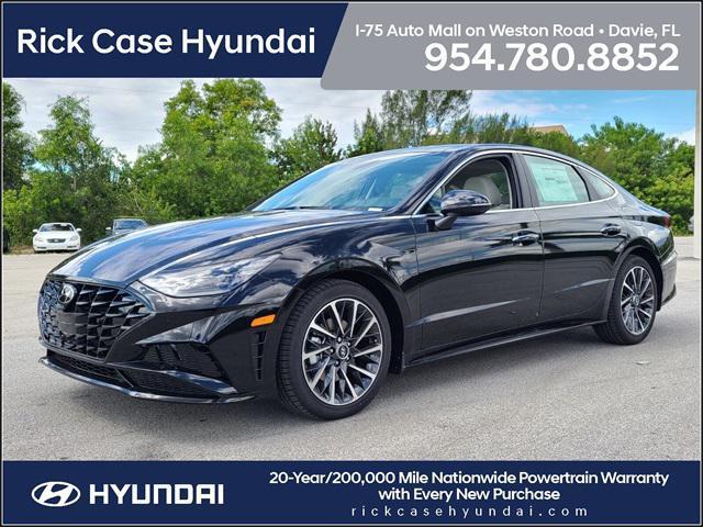 2022 Hyundai Sonata Limited for sale in Davie, FL