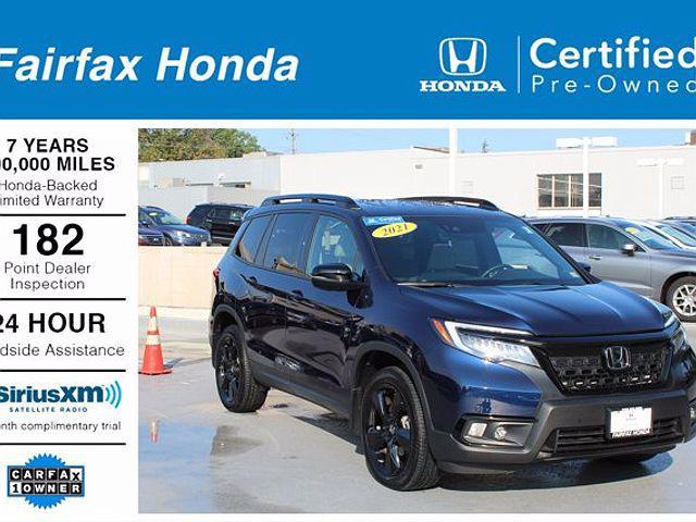 2021 Honda Passport Elite for sale in Fairfax, VA