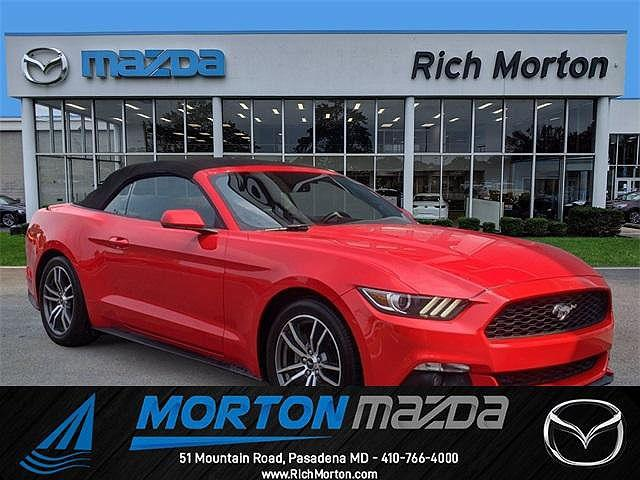2016 Ford Mustang EcoBoost Premium for sale in Pasadena, MD