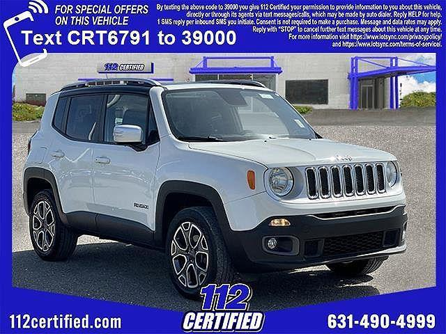 2016 Jeep Renegade Limited for sale in Medford, NY