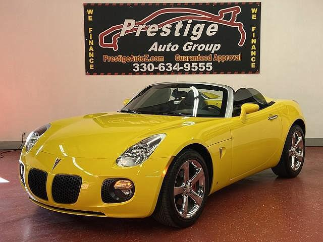 2007 Pontiac Solstice GXP for sale in Tallmadge, OH