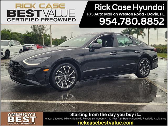 2021 Hyundai Sonata Limited for sale in Davie, FL