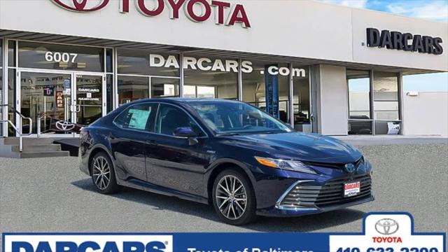 2021 Toyota Camry Hybrid XLE for sale in Silver Spring, MD