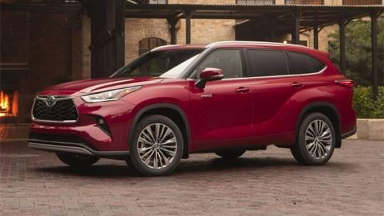 2021 Toyota Highlander Hybrid Platinum for sale in Laurel, MD
