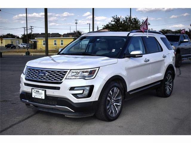 2017 Ford Explorer Platinum for sale in Odessa, TX