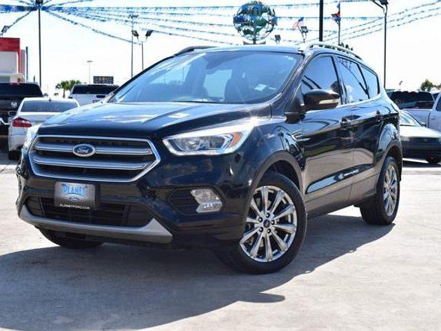 2017 Ford Escape Titanium for sale in Humble, TX