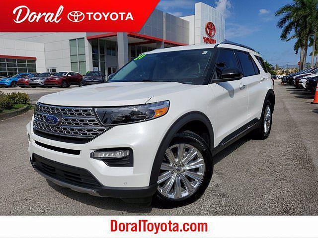 2021 Ford Explorer Limited for sale in Doral, FL