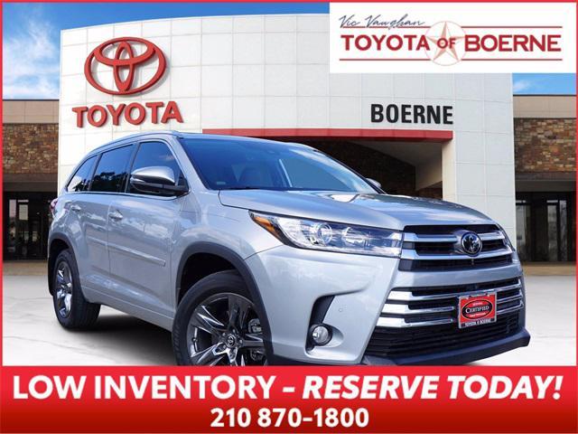 2018 Toyota Highlander Limited for sale in Boerne, TX