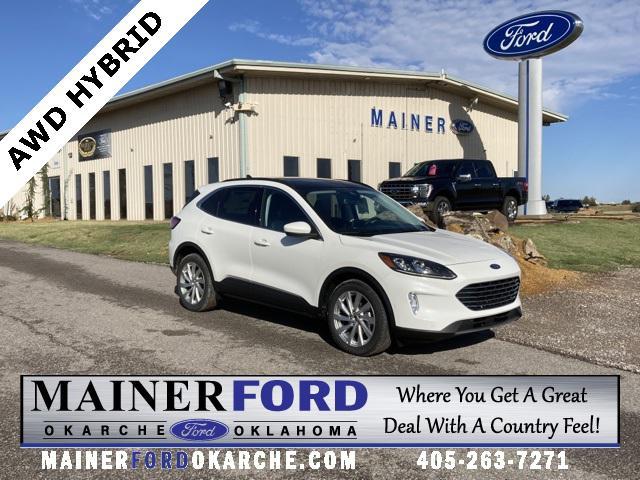2021 Ford Escape Titanium Hybrid for sale in Okarche, OK