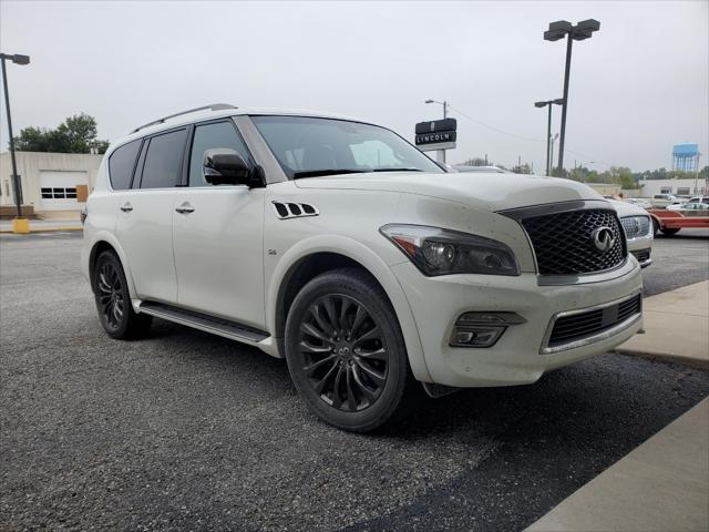 2017 INFINITI QX80 Limited for sale in Guthrie, OK